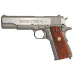Colt 1911 Rail gun nickel